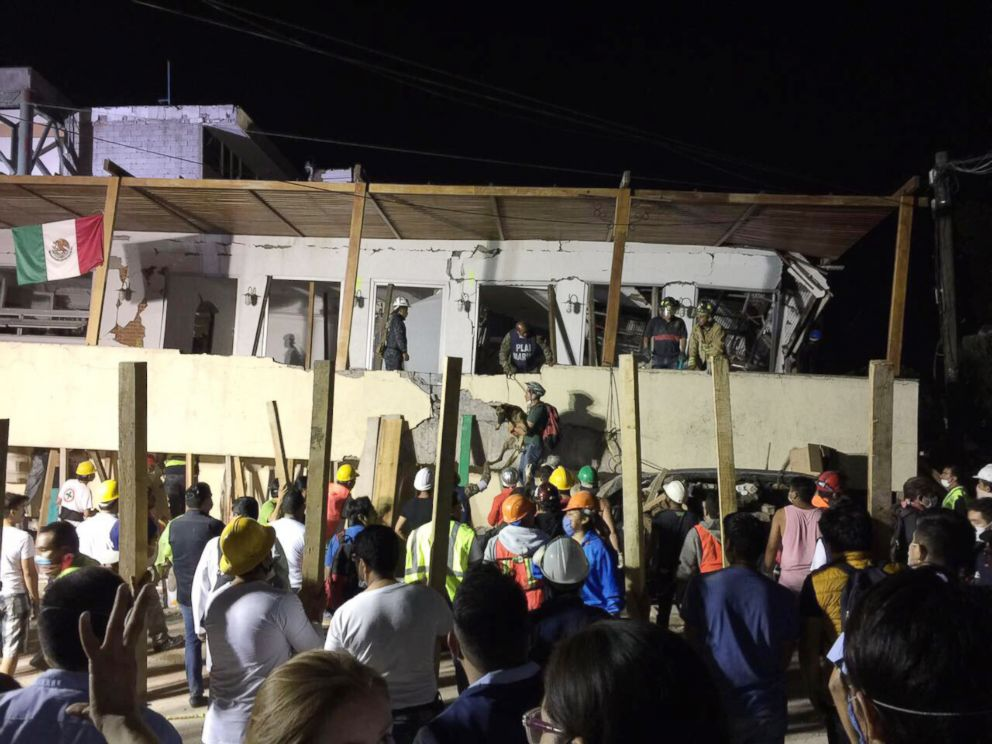 More than 200 dead after magnitude 7.1 quake strikes Mexico; 'death toll will rise'